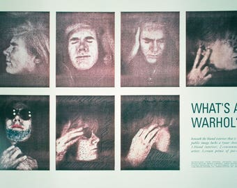 Andy Warhol-What's a Warhol?-1990 Poster