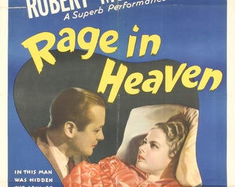 Rage in Heaven-1941 Poster