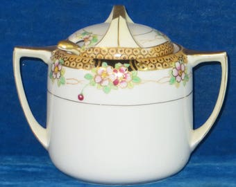 Nippon Covered dish with ladle