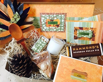 Thoughtful {Thanksgiving} Box {ornament + pumpkin pie soap}