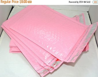 On Sale 20 Light Pink  6x9 Padded Bubble Mailers, 20 Total Colored Bubble mailing Envelopes