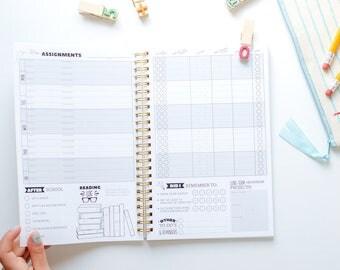 Custom homework planner