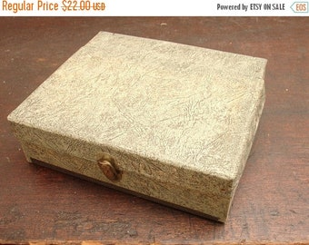 "ON SALE antique alphabetical file paper holder organizer ""the midget file"" for bills & papers"