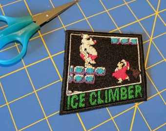 Ice Climber NES embroidered patch