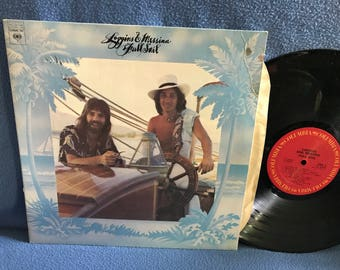 "Vintage, Loggins & Messina - ""Full Sail"", Vinyl LP Record Album, Original First Press, Lahaina, A Love Song, My Music Yacht Rock"