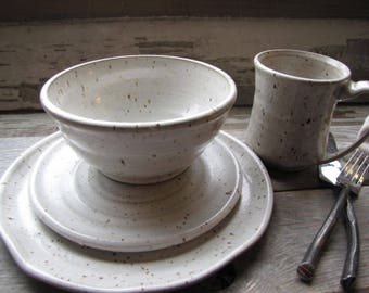 Made To Order Dinnerware Sets Place Setting Dinner Ware Pottery Plates  Bowls Mugs Dishes Wedding Registry