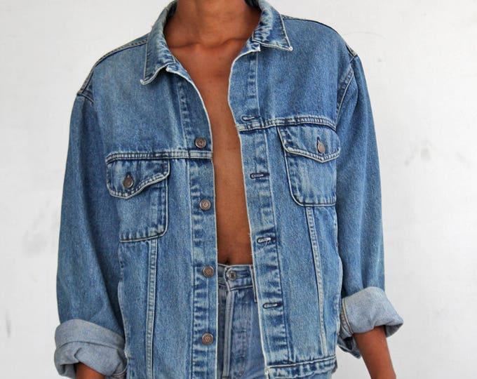 90s Jean Jacket size L