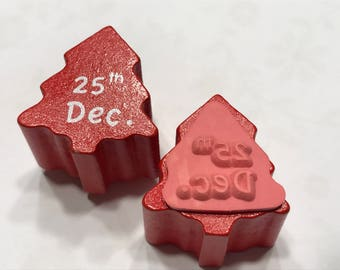 small tiny 25 th December stamp, 12 mm (BB1/3)