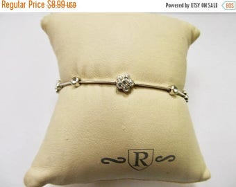 On Sale NARDI Floral Crystal Bracelet Item K # 552