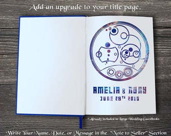 Personalized Doctor Who Circular Gallifreyan Names, Words, or Phrase [Add-On Option]
