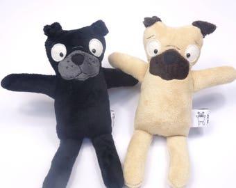 Pug Dog PDF Soft Toy Sewing Pattern