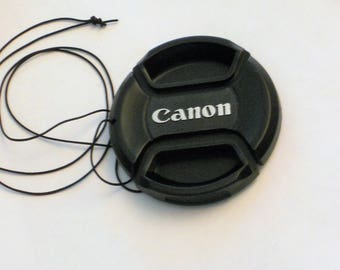 Canon Lens Cap Pinch Style, For any 55 mm Size Lens.