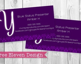 Younique PRINTABLE Business Card