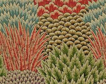 CLARENCE HOUSE PIENZA Bargello Woven Fabric 10 Yards  Multi