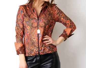 SALE Vintage PJ'S Creations Western Shirt