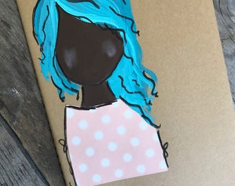 Blue Hair Journal