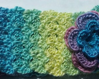 Crochet kids headband -earwarmer