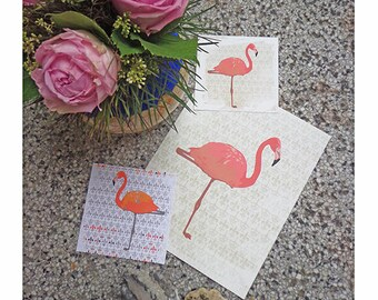 Flamingo Print, Flamingo Art, Flamingo Poster, Tropical Decor, Pink Flamingo Decor, Tropical Bird, Flamingo Nursery Decor