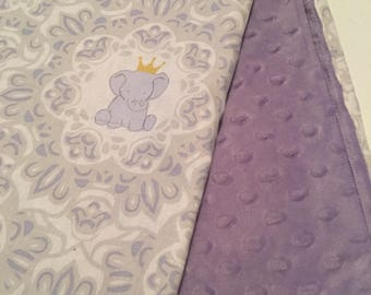 Special Order Elephant  Baby  Blanket