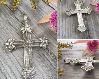 Old sterling silver cross.