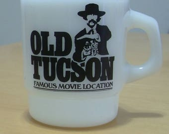 Free shipping! Fire King Anchor Hocking Old Tucson mug MINT!