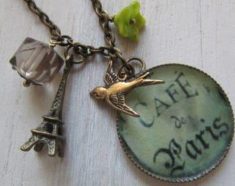 Souvenir of Paris necklace