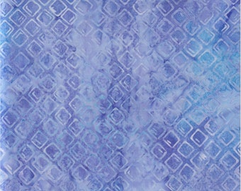 Robert Kaufman Fabrics, Artisan Batiks:Greenhouse 3, Lunn Studios, Cornflower Blue Batik Print, 100% cotton