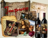 DaVinci Murder Mystery dinner party game. Download and print. booklets, clues,