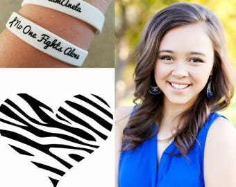 Support Bracelets for Anela and her fight with Neuroendocrine Cancer