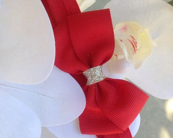 Baby Red Headband For