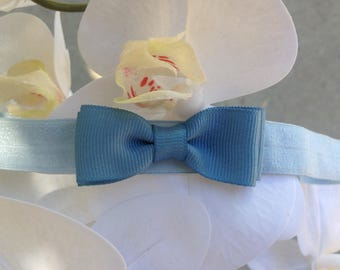 Baby Sky Blue Headband For 6-12months