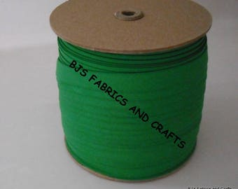 """12 Yards Double Fold Bias Tape EXTRA WIDE 1/2"""" Kelly GREEN"""