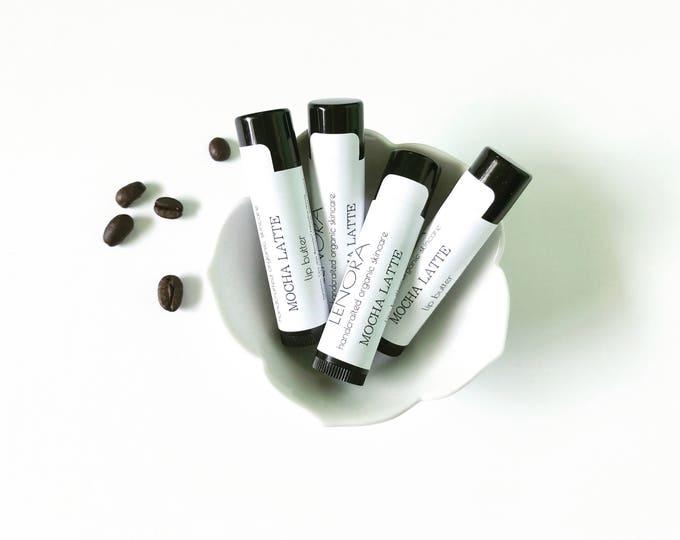 Featured listing image: Organic Lip Butter   Mocha Latte   Handmade   Fall   Gift