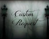 Custom Request Raven Skull Pumps Rush Order