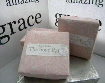 Amazing Grace fragrance type 6 ounce big bar soap / Perfume scent soap