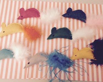 Feathered Catnip Toys/ Cat Toys/ Catnip Toys