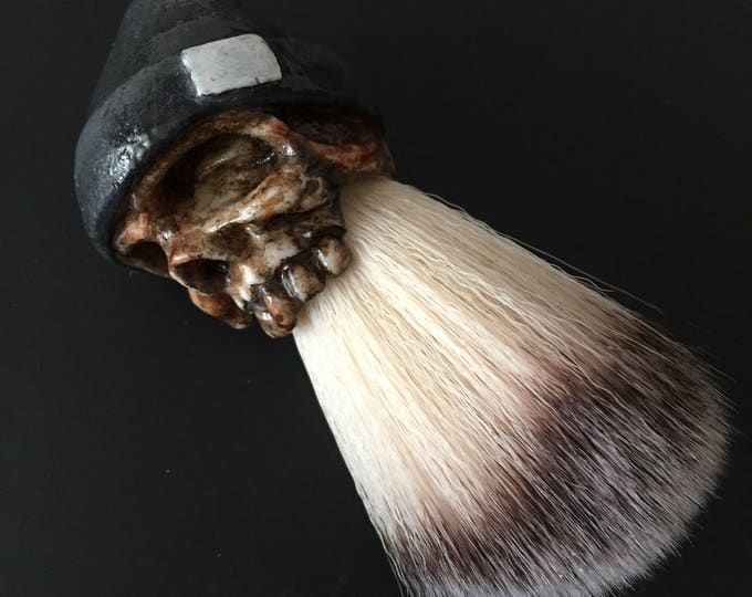 Beanie Shaving Brush (gray)