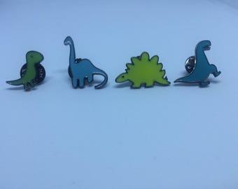 Dinosaurs Pins/ Ultrasaurus Pin/ Stegosaurus Pin/ T-Rex Pin