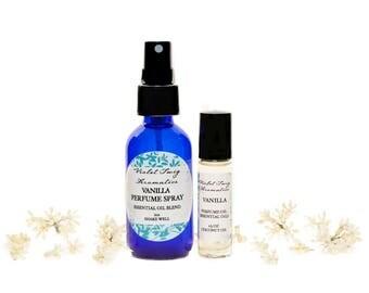 Vanilla Perfume - Essential Oils - Natural Vanilla Perfume - Essential Oil Perfume - Vanilla Perfume Oil - Vanilla Spray - Pure Vanilla