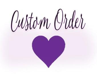 Custom veil for Amanda