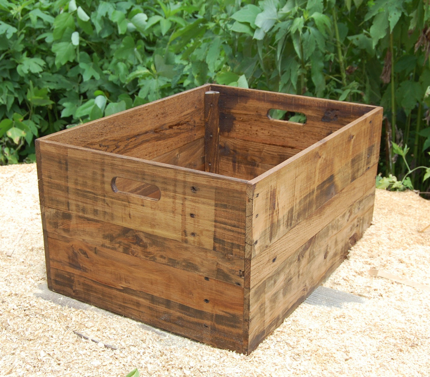 Custom Wooden Crate/ Storage Box/ Crate Table/ Extra Large Crate/ Reclaimed  Wood