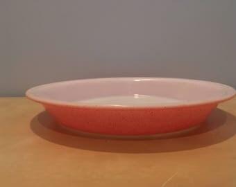 Vintage Desert Dawn Pink Pyrex Pie Plate
