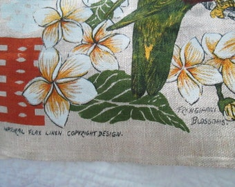 Fiji Tea towel Never used and oversized in Raw linen
