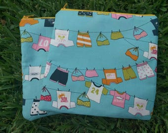 Zipper pouch - Lucy's Crab Shack