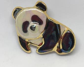 Small Panda Pin