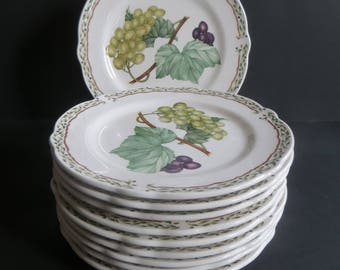 Noritake Royal Orchard Primachina Bread Butter Plates Set of 10