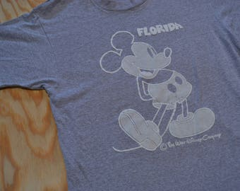 Wicked Legit Vintage 80's Mickey Mouse Florida T-Shirt