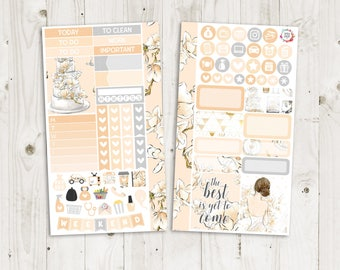 Wedding Bliss Personal Size Sticker Kit - SMC Inserts