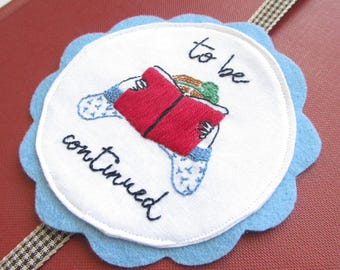 Embroidered Bookmark PDF Pattern - Medallion Style