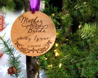 Mother of the Bride Christmas Ornament- OR21